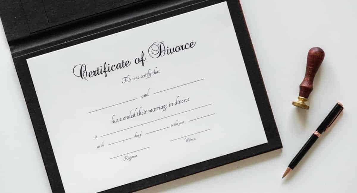 steps to getting a divorce