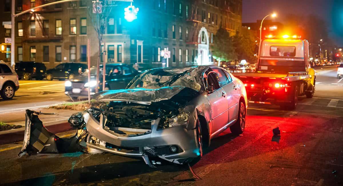 car crash aftermath