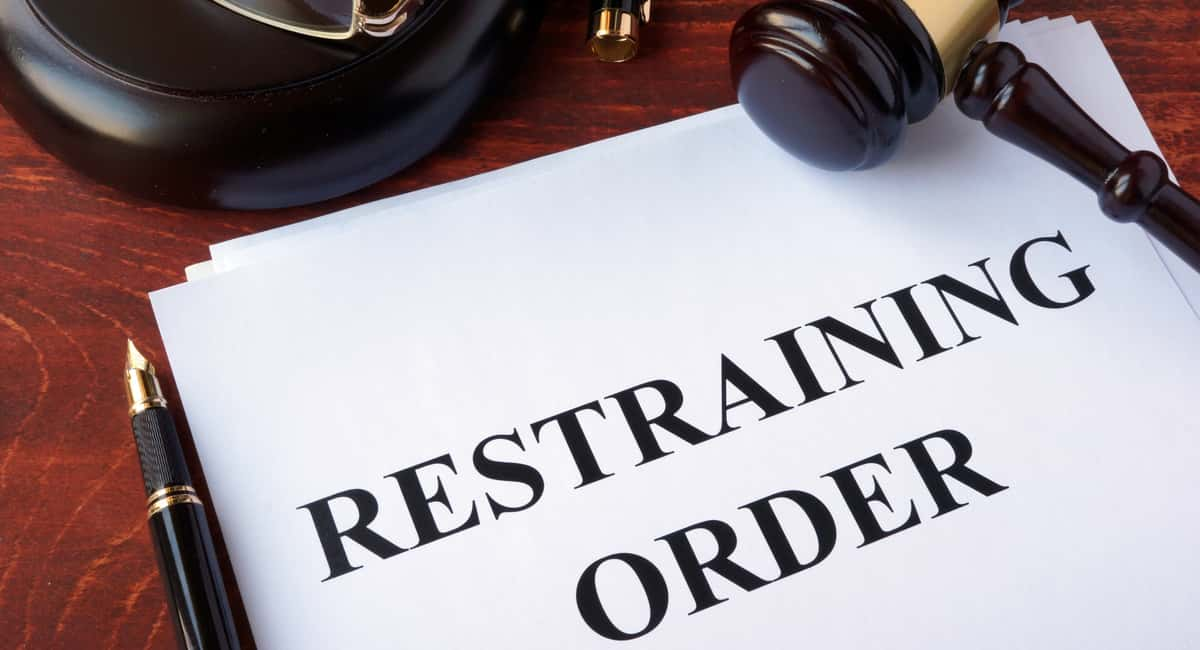 type of restraining order