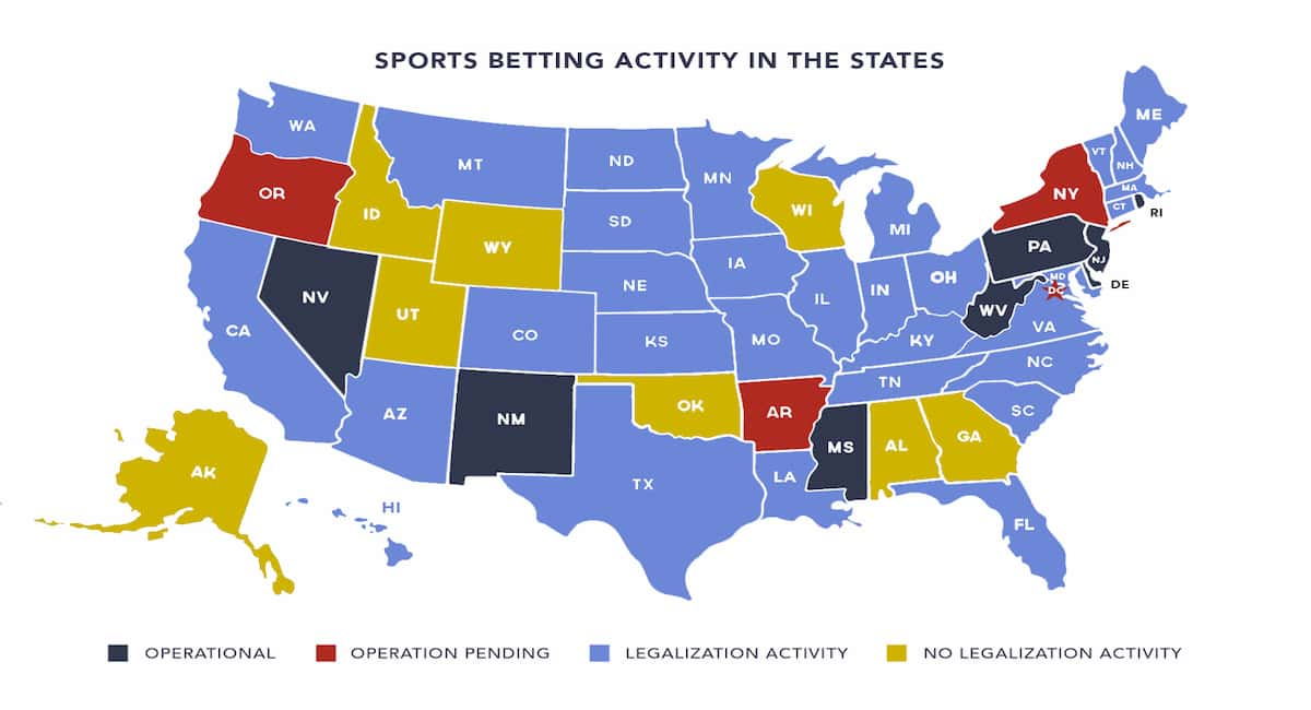 Betting on sports in the us las vegas betting odds on presidential election