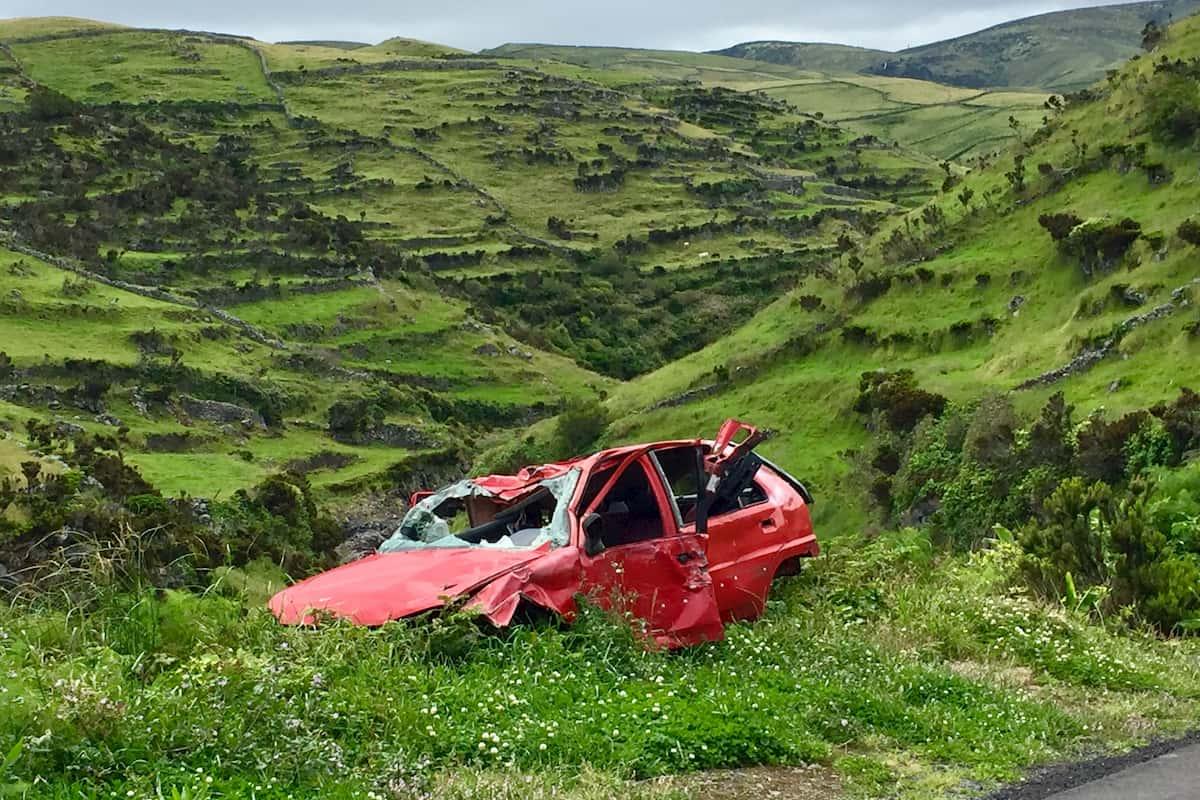 company car accident