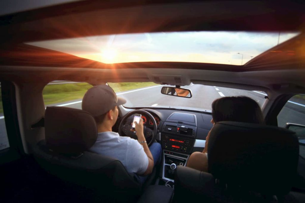Lyft Driver Has An Accident