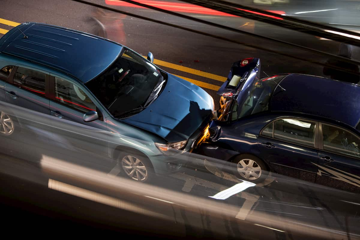Types Of Traffic Collisions