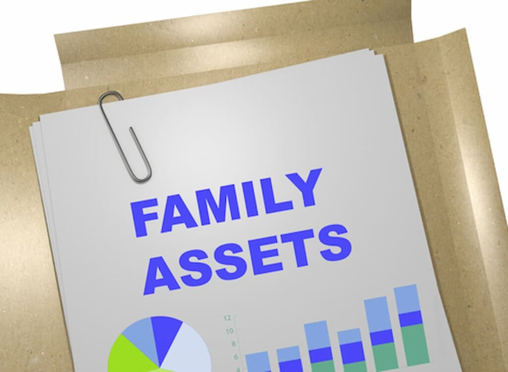Help account for the marital assets