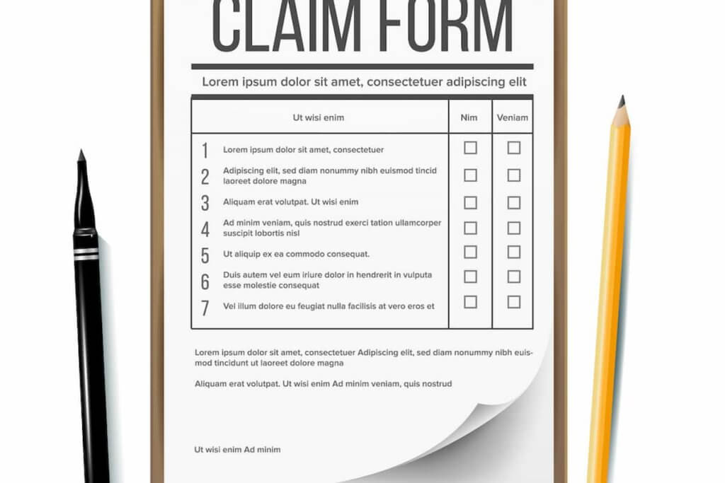 Submitting a Claim for Lost Wages