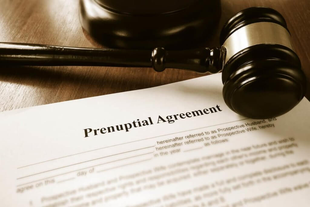 A prenuptial agreement can't be vague