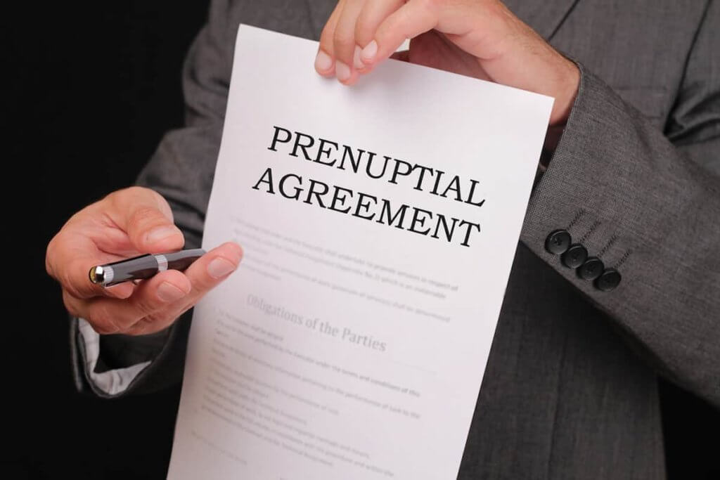 Understand all the terms of your prenup