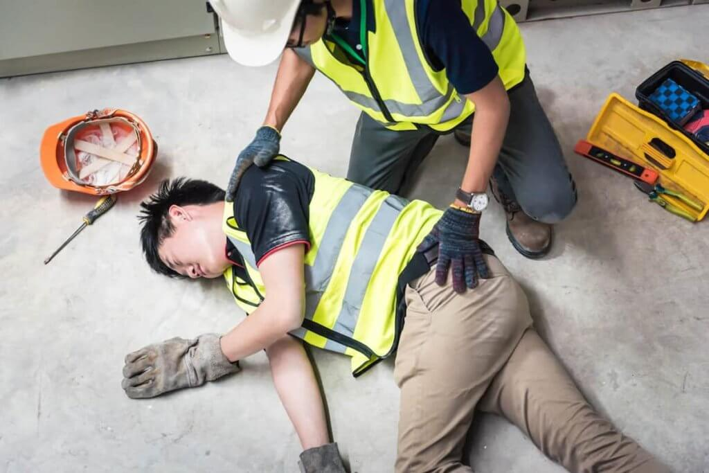 injury at the workplace
