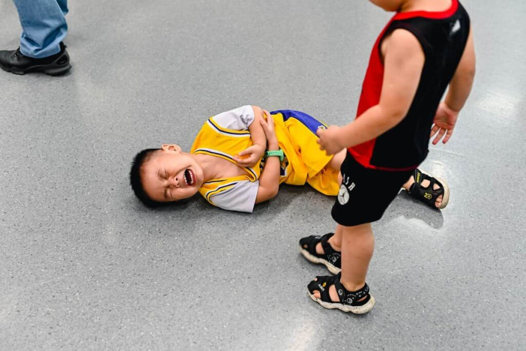 Common causes of child injury