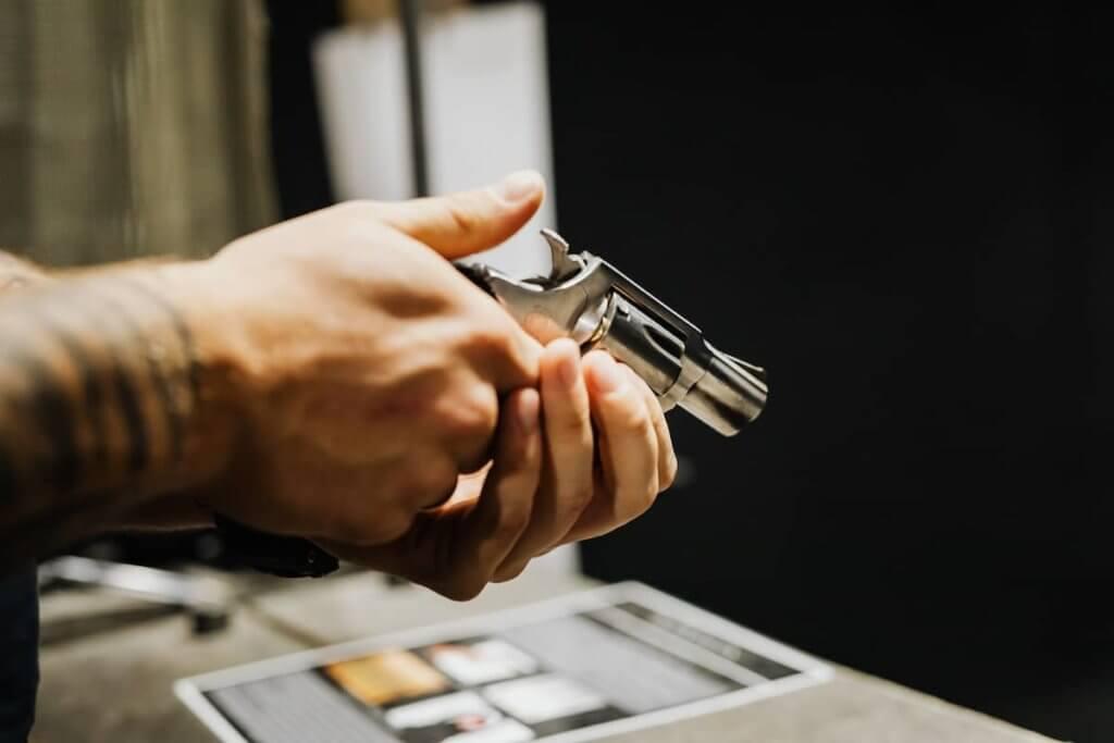 Flaunting a firearm