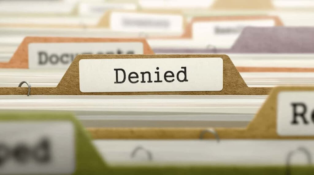 Find Out Why Your Case Was Denied