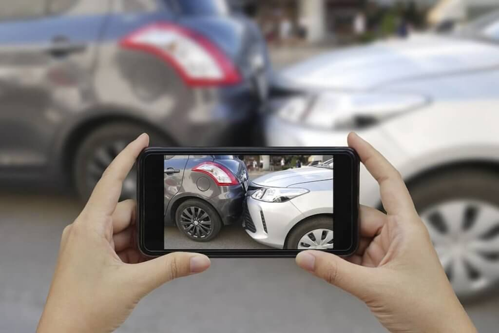 Take Photos Of The Scene Of The Accident