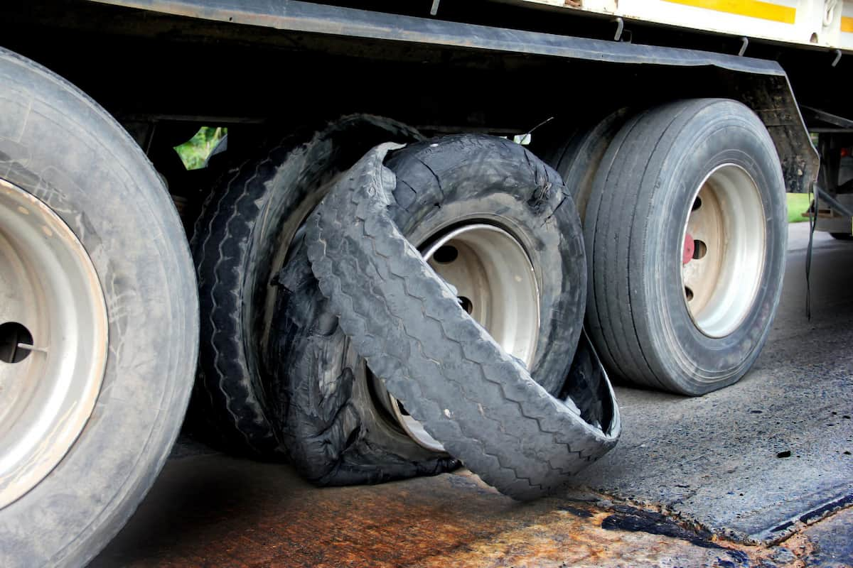 Tire Blowout Truck Accidents