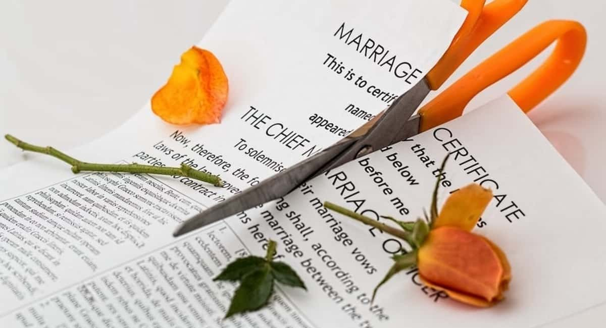 A simple guide to the divorce rate and the changes in divorce law