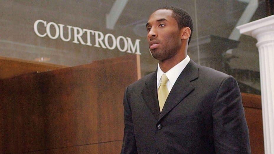 Kobe Bryant - Courtroom