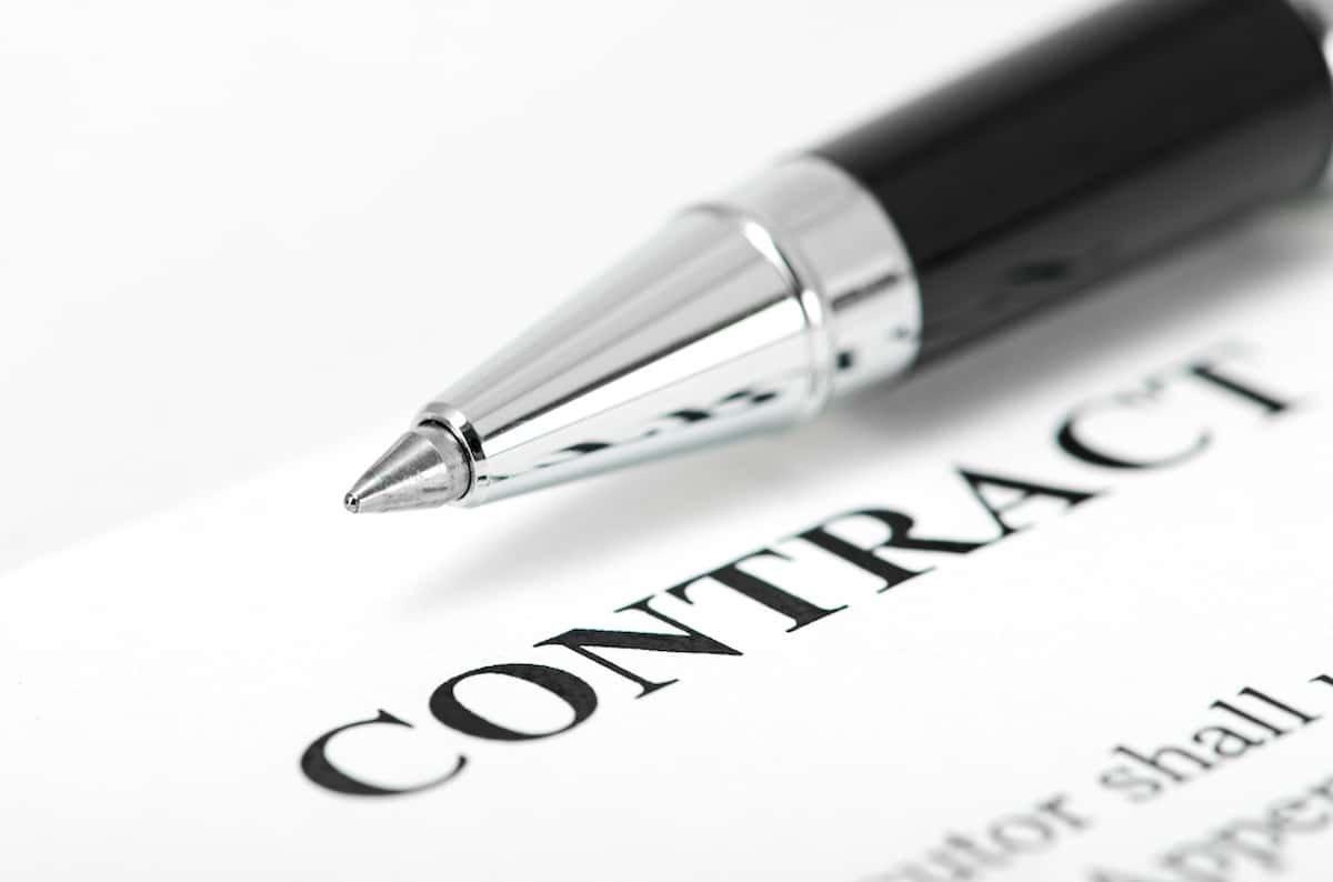 Non-Compete Contract