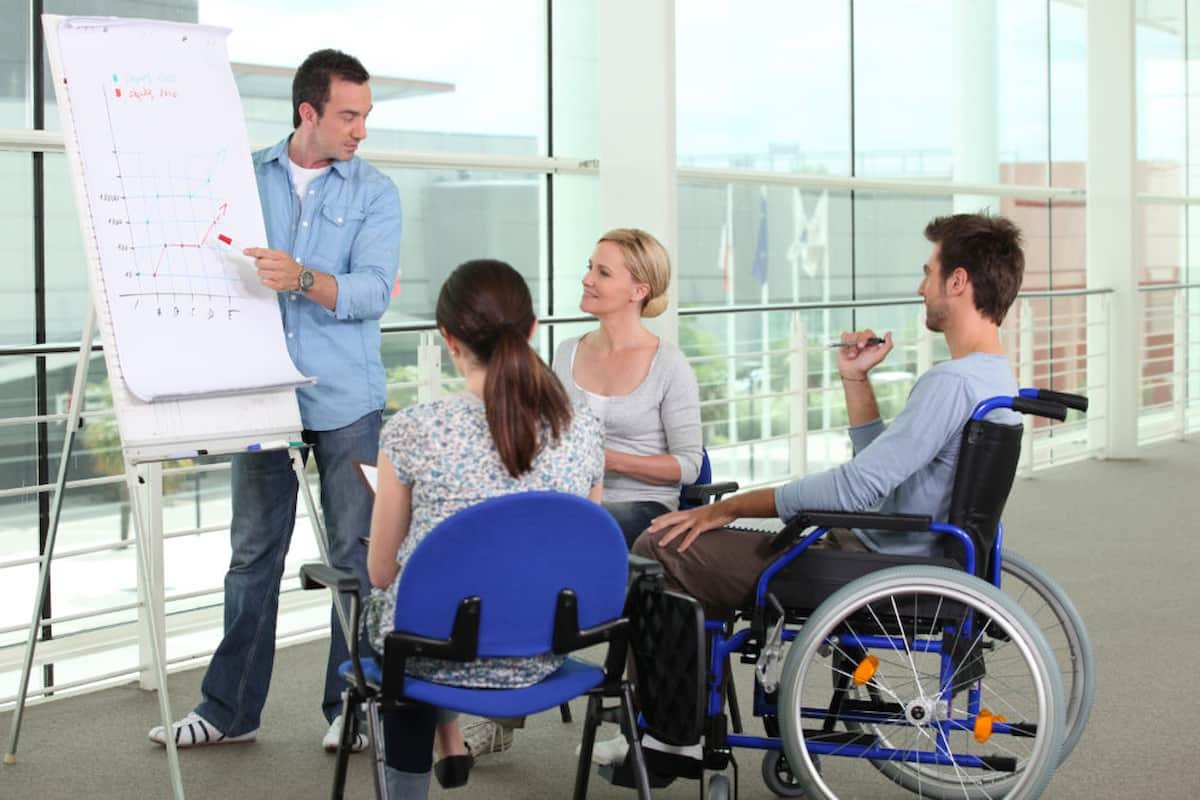 Workplace For Disabled Employees