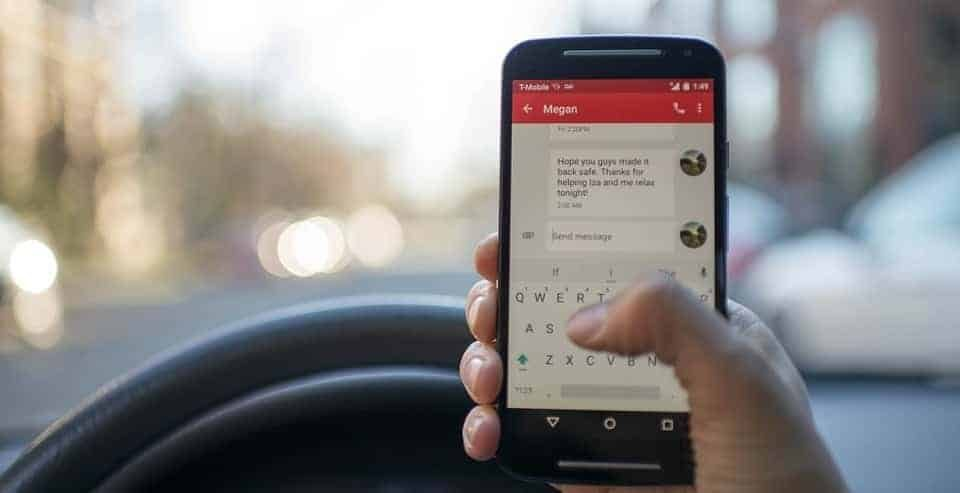 Statistics for distracted driving in Canada