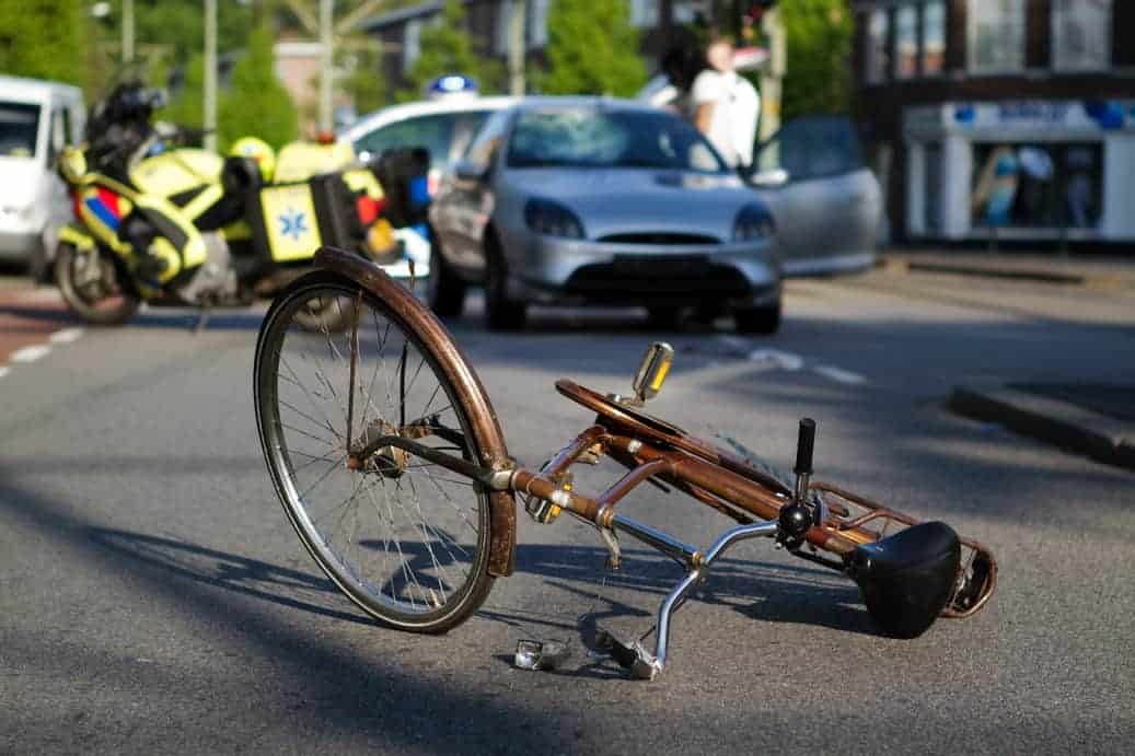 What are your legal options if you hit a bicyclist with your car?